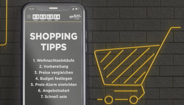 Black Friday Sale: Shoppingtipps für deine Schnäppchenjagd